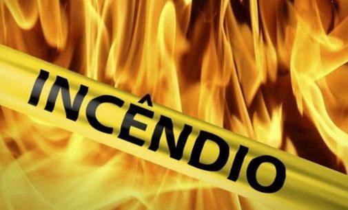 Irineópolis: Bombeiros atendem incêndio em estufa de fumo