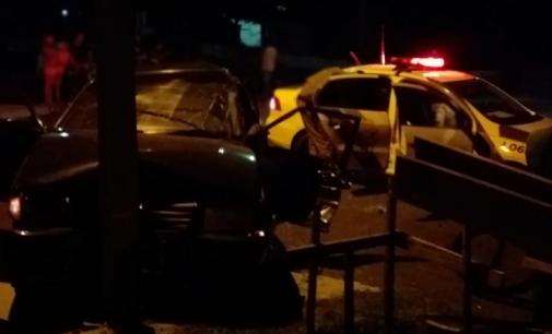 Acidente de trânsito no bairro São Braz em UVA deixa um ferido
