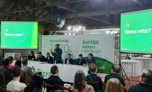 Sicredi Porto União realiza Assembleia com associados e convidados