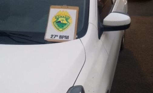 Veículo furtado em Ipoméia é recuperado por policiais de União da Vitória