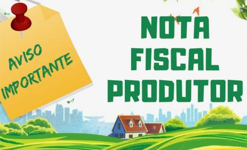 Produtores rurais devem apresentar notas até 20 de março