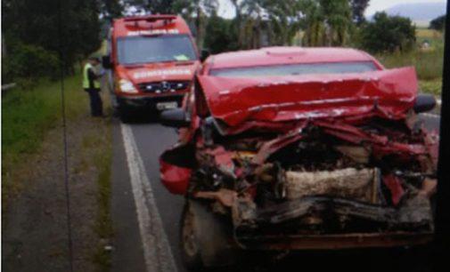 Acidente na BR 280 deixa uma pessoa ferida em Porto União