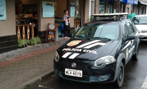 Após decreto, policiais de Porto União fiscalizam estabelecimentos comerciais