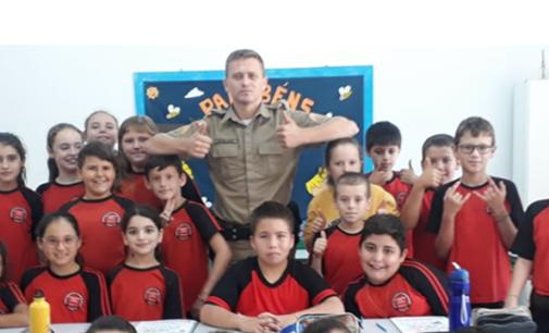 Irineópolis: Policiais dão início ao Proerd
