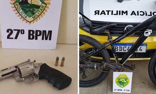 Policiais de São Mateus do Sul recuperam bicicleta furtada