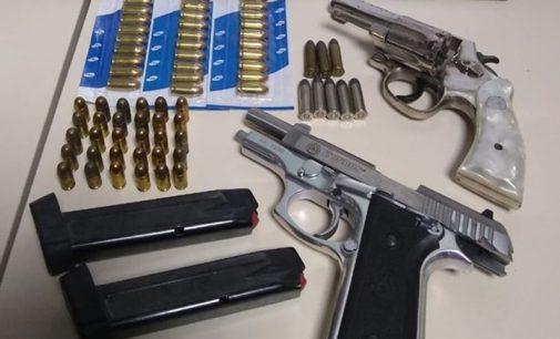União da Vitória: Armas e munições são apreendidas na área central