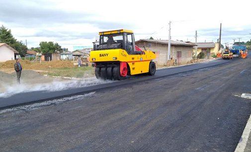 Inicia a pavimentação da rua Tereza Cristina em Matos Costa