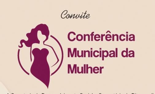 Bituruna realizará a 2ª Conferência Municipal da Mulher