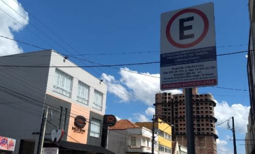 União da Vitória: Prefeitura suspende cobranças do estacionamento rotativo