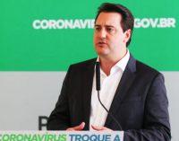 Governador do Paraná anuncia pacote econômico de R$1 bilhão para empresas