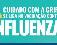 Vacinação contra gripe: Porto União fará atendimento domiciliar