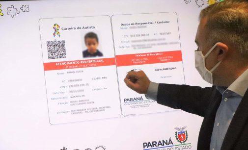 Carteira do Autista já pode ser solicitada em todo Paraná