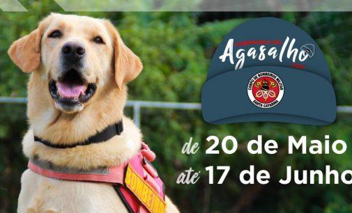 Corpo de Bombeiros de Porto União inicia Campanha do Agasalho 2020