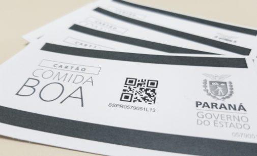 Claudinei de Paula Castilho fala sobre distribuição do Cartão Comida Boa em Bituruna
