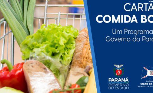 Prefeitura de União da Vitória inicia entrega do cartão Comida Boa