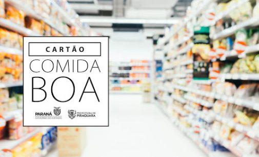 Cartão Comida Boa será distribuído a partir da próxima sexta-feira, 15, em Cruz Machado