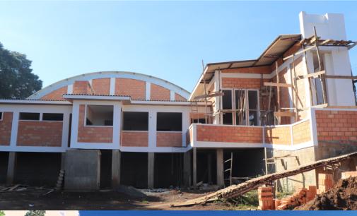 Cruz Machado: construção da sede da Associação Mais Amor ao Idoso está 67% concluída